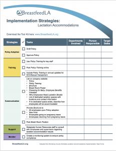 Implementation Checklist picture