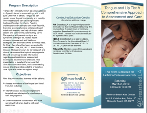 Tongue and Lip Tie: A Comprehensive Approach to Assessment and Care
